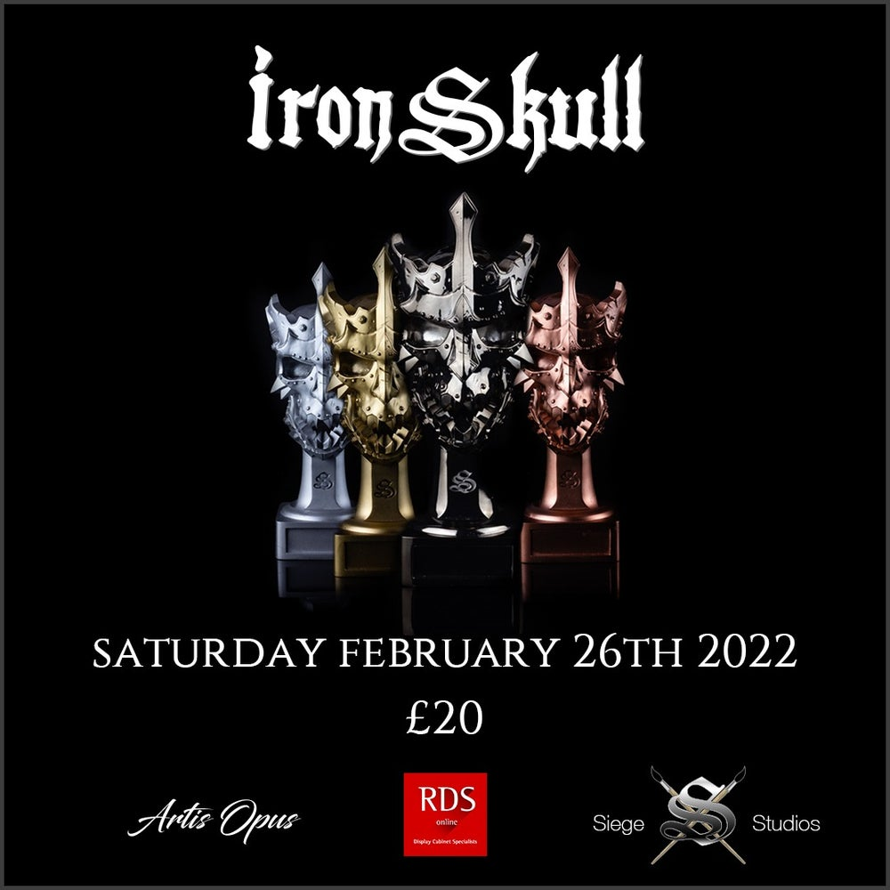 Image of IronSkull Ticket - Saturday 26th February 2022