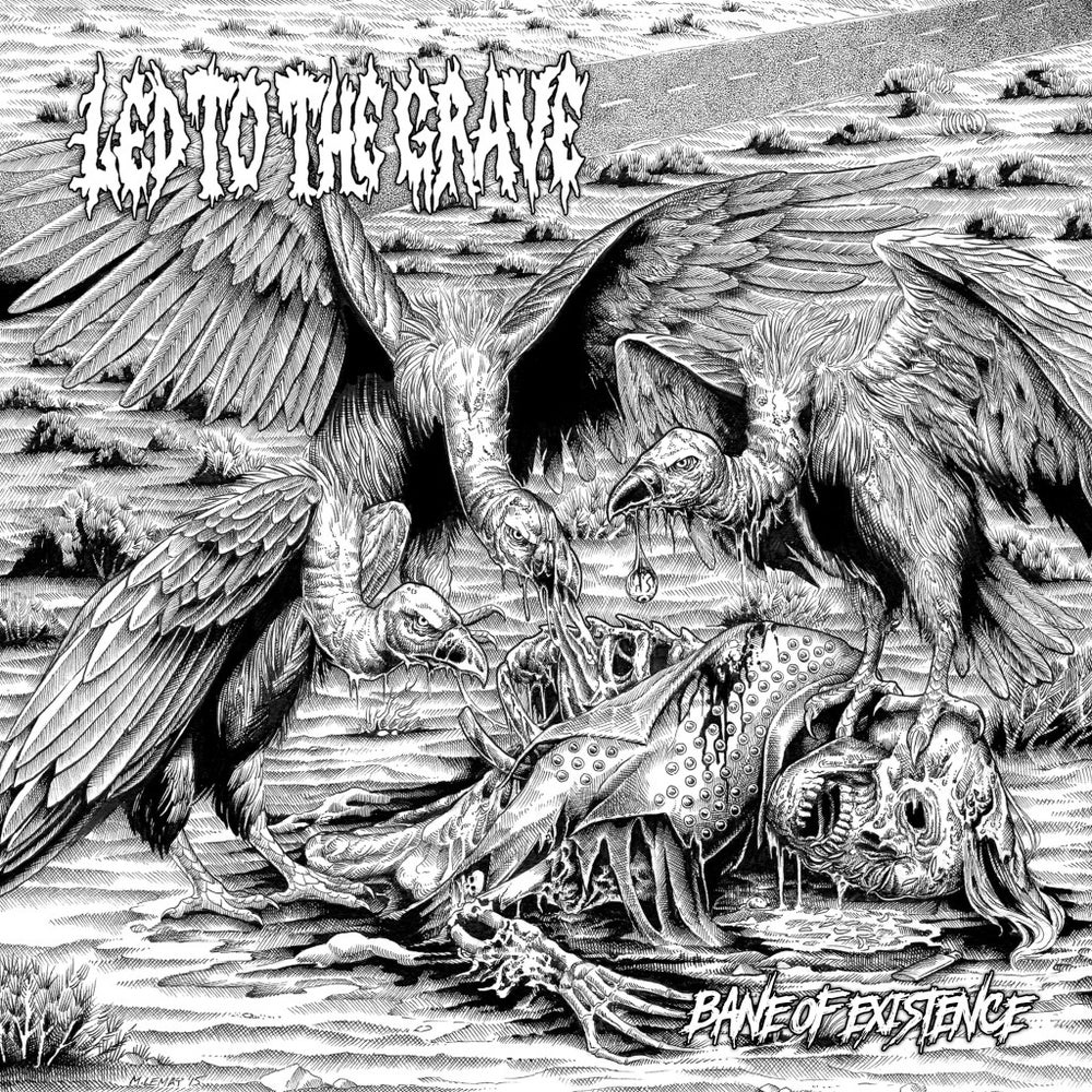 Led To The Grave - Bane Of Existence - CD/Cassette