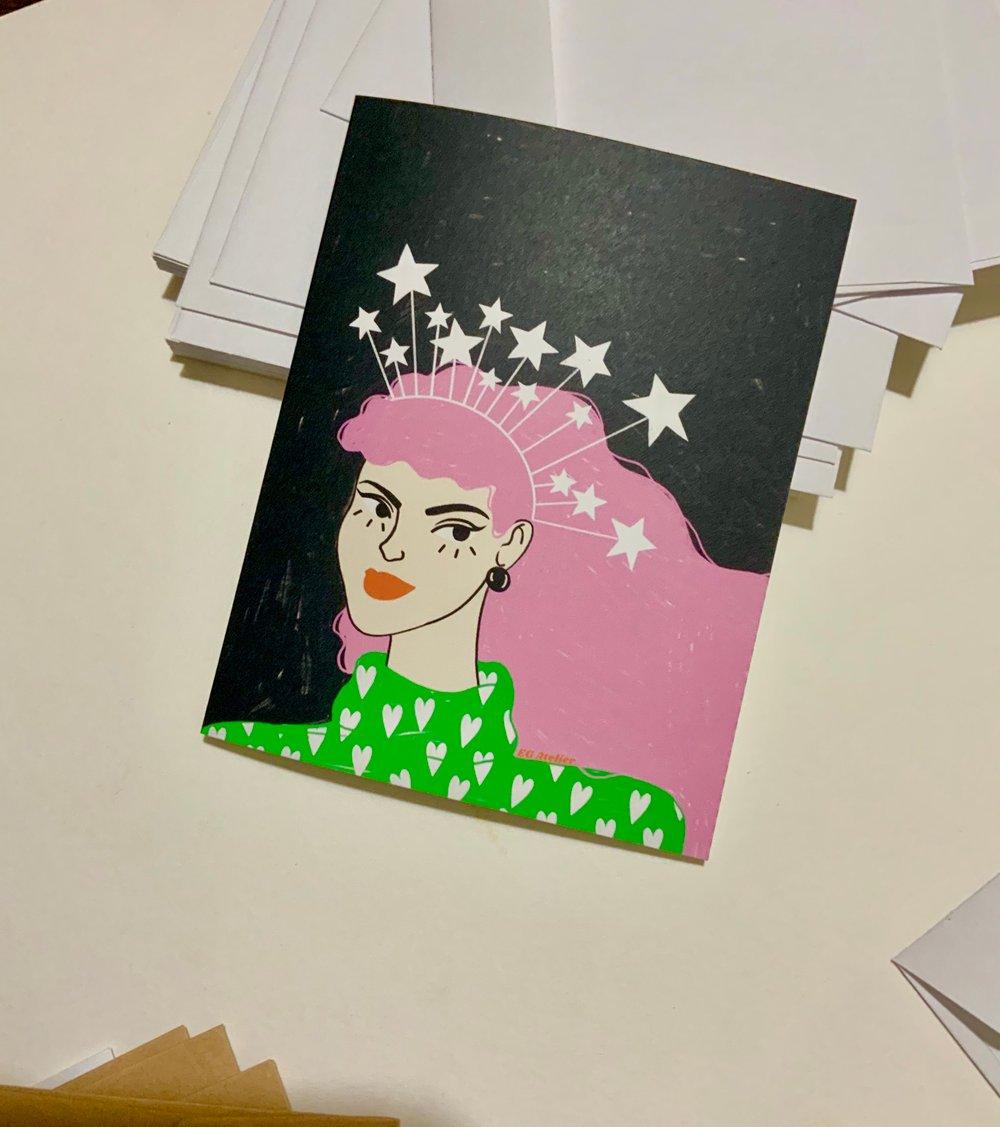 Image of Spirit of Giving Greeting Card
