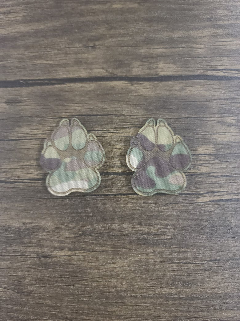 "Image of MC 2"" Paw Set"