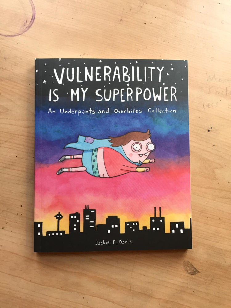 "Image of ""Vulnerability Is My Super Power"" Book PREORDER"