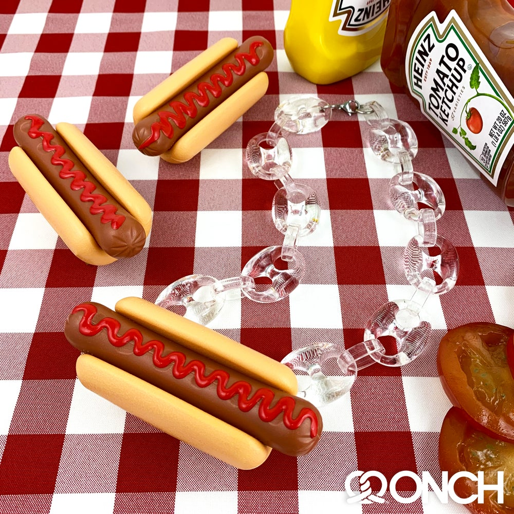Image of Hotdog Necklace