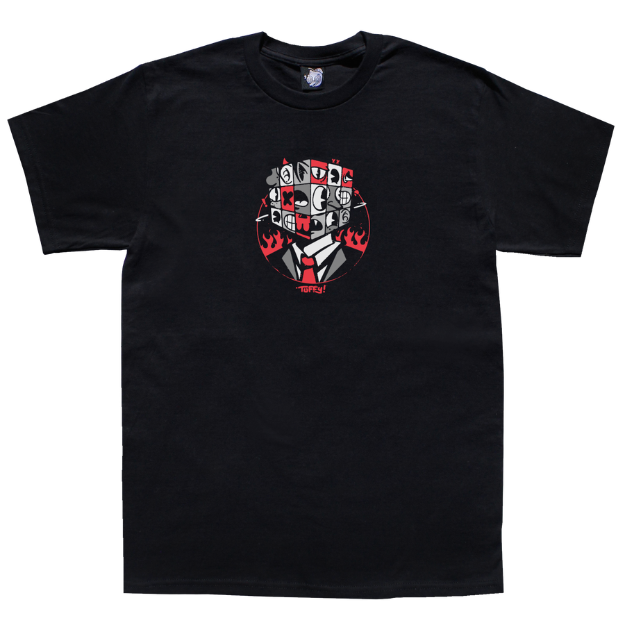Image of *PRE-ORDER* Tuffy Cube Head T-Shirt
