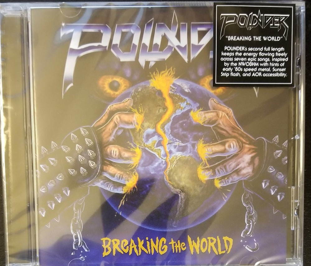 "Image of Pounder ""Breaking the World"" Compact Disc"