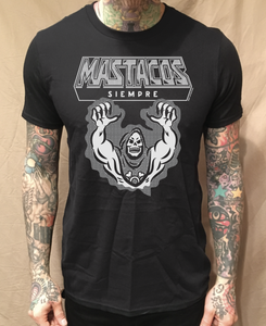 Image of HANGRY SKELETOR MAS TACOS BLACK TEE