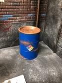 1:12 Scale Blue Barrel