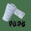 Large muslin wrap / Swaddle blankets + clips - set 3
