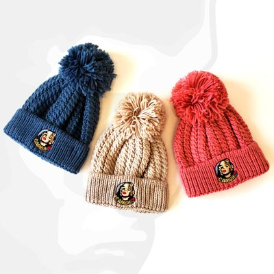Image of DOLLFACE POM BEANIE