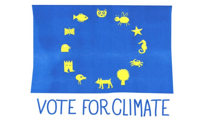 Image of vote for climate
