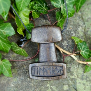 Image of Thor's Hammer protection pendant (PE1389)