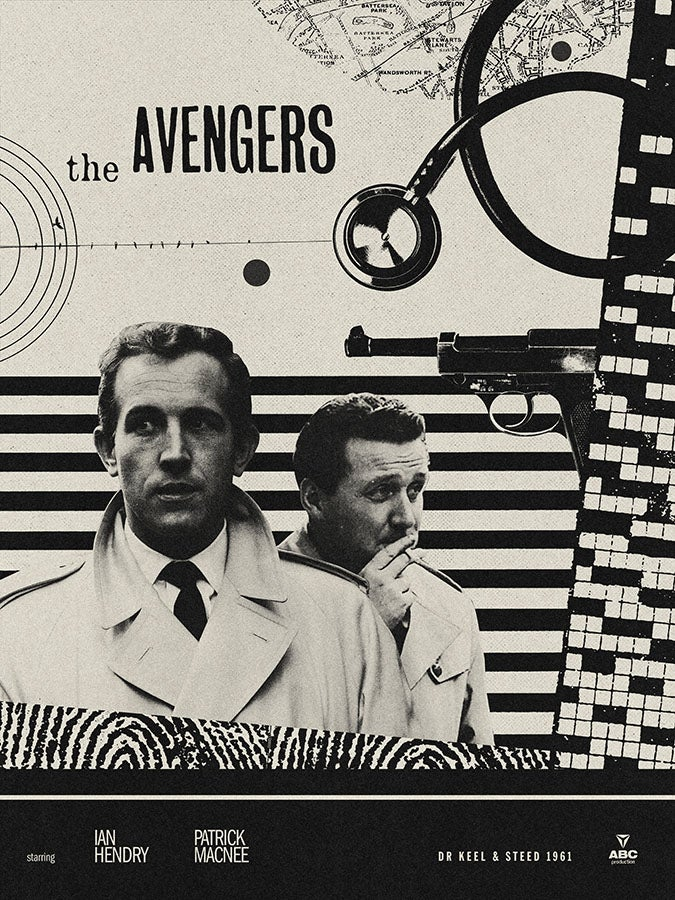 Image of The Avengers 60th Anniversary Dr Keel & Steed