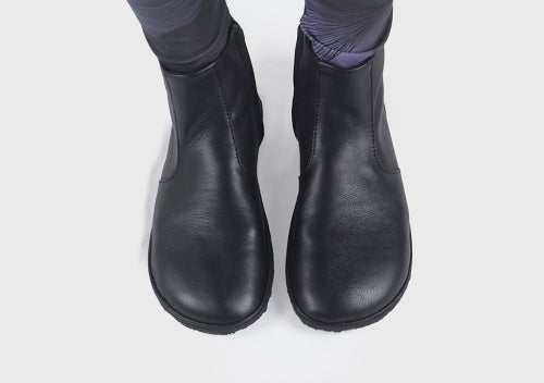 Image of ΖetaPi Ankle boots in Matte black