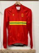Image of SO58 Thermal Cycling Jersey Long Sleeve Red