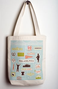 Image of Philly Icons tote