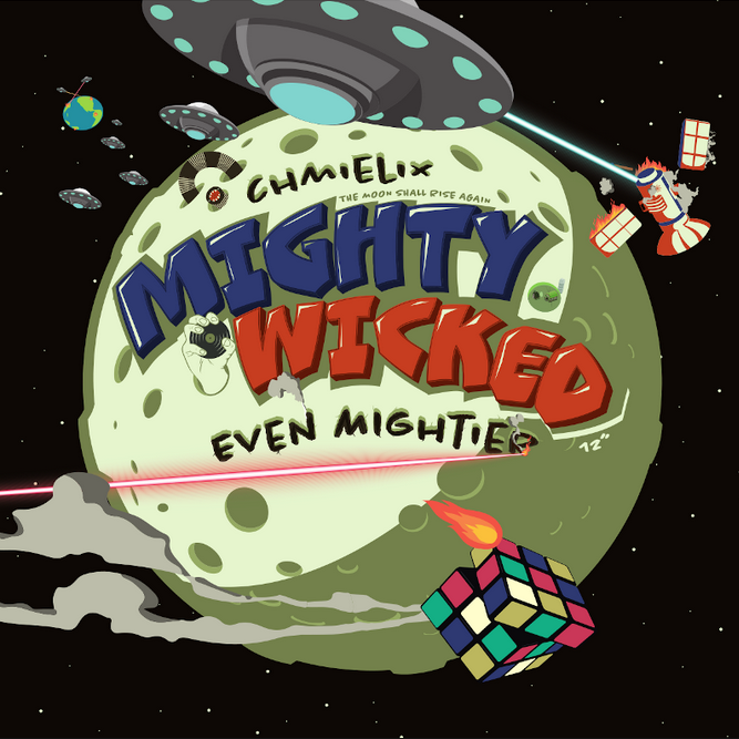 """Image of 12"""" """"Mighty Wicked / Even Mightier"""" by DJ Chmielix"""