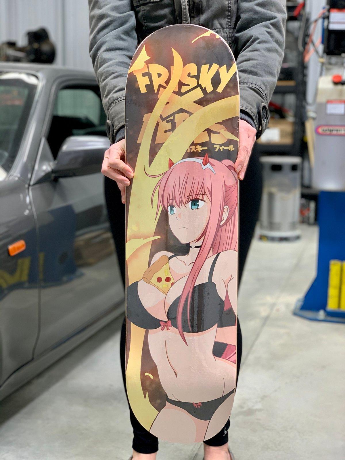 Image of 002 Blazin Skate Deck