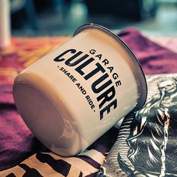 Image of MUG Emaillé - Garage Culture ®