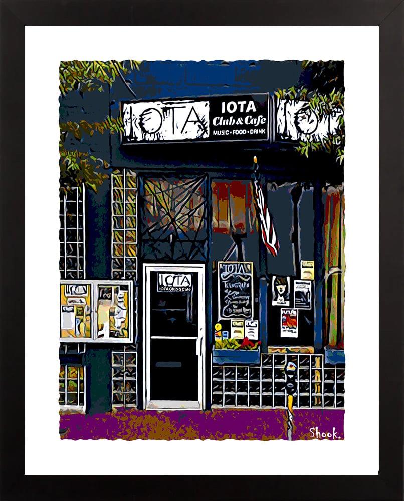 """IOTA Arlington VA Giclée Art Print - 11"""" x 14"""""""