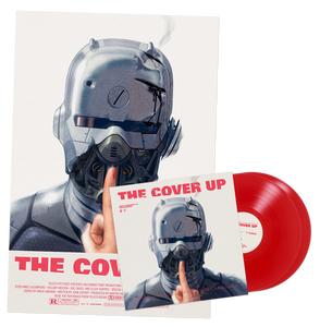 Image of The Cover Up Vinyl + Huge Movie Poster