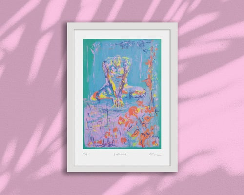 Image of EARTHLING – Limited Edition A2 Giclée Print