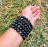 Silver Sheen Obsidian Natural Bracelet