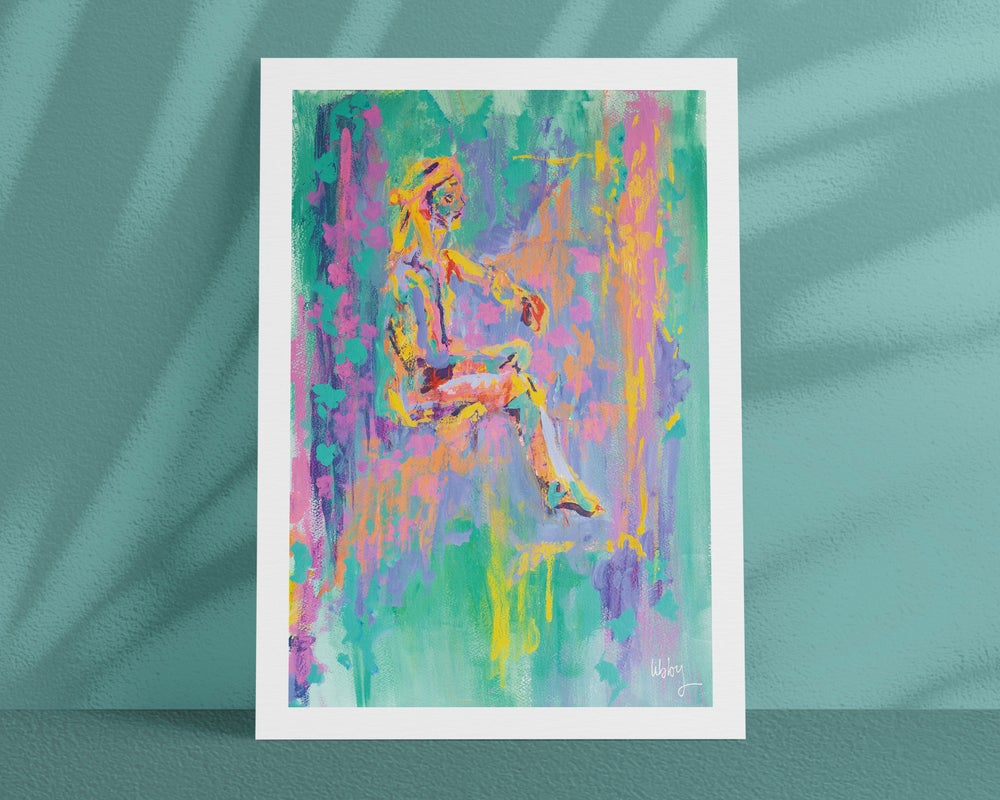 Image of BATH BOMB – A4/A3, Fine Art Giclée print