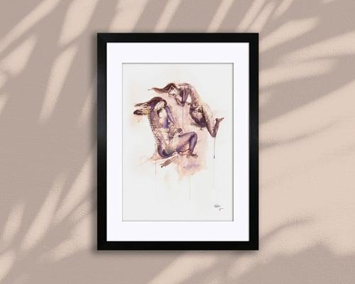 Image of THE DREAMERS – A4/A3, Fine Art Giclée Print