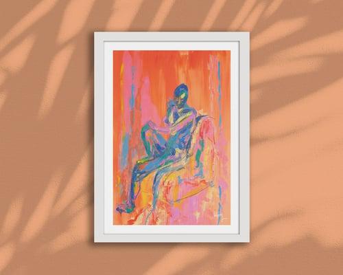 Image of THE PYROMANCER – A4/A3, Fine Art Giclée Print