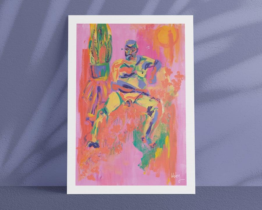 Image of HOTHOUSE – A4/A3, Fine Art Giclée Print