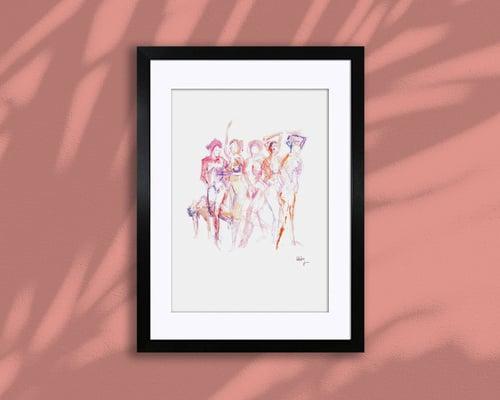 Image of DOYENNE – A4/A3, Fine Art Giclée Print