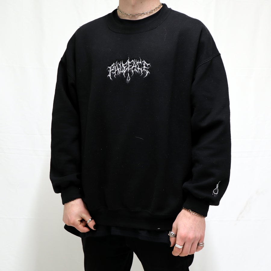 Image of EMBROIDED CREWNECK