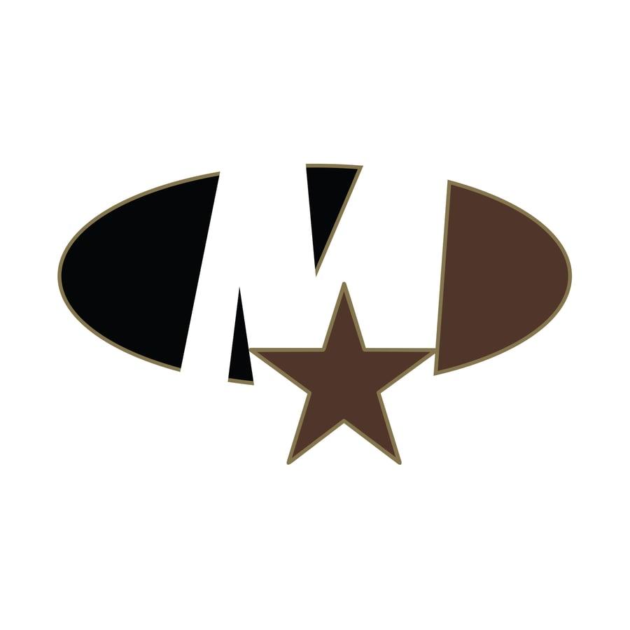 Image of Star Logo Sticker