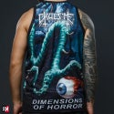 """Gruesome """"Dimensions of Horror"""" Tank Top Shirt"""