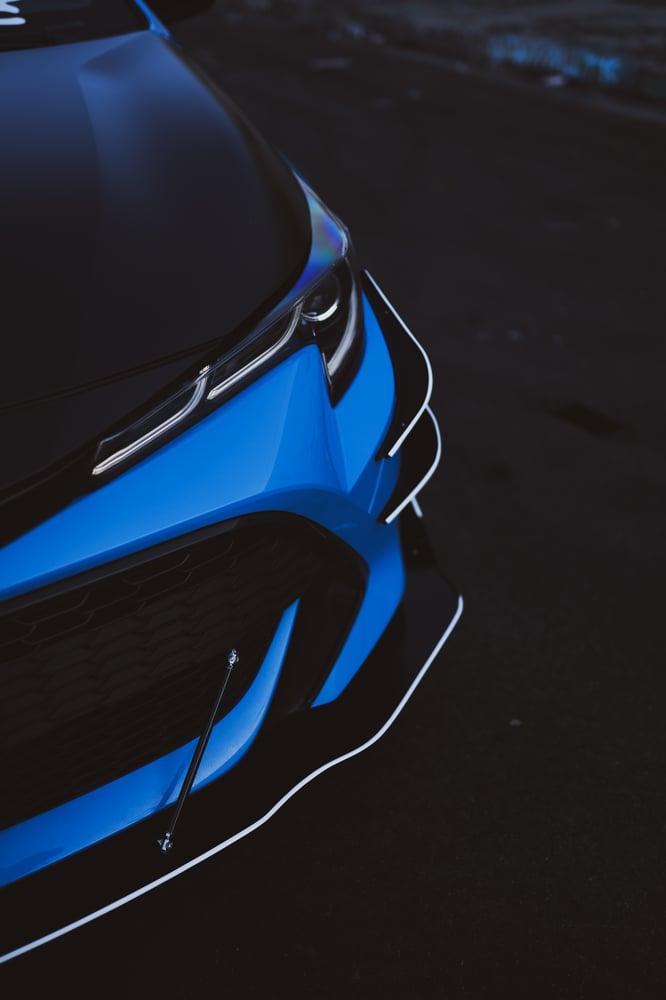 Image of 2019-2021 Toyota Corolla Hatchback Canards