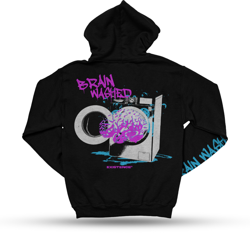 """Existence """"Brain Washed"""" Hoodie"""
