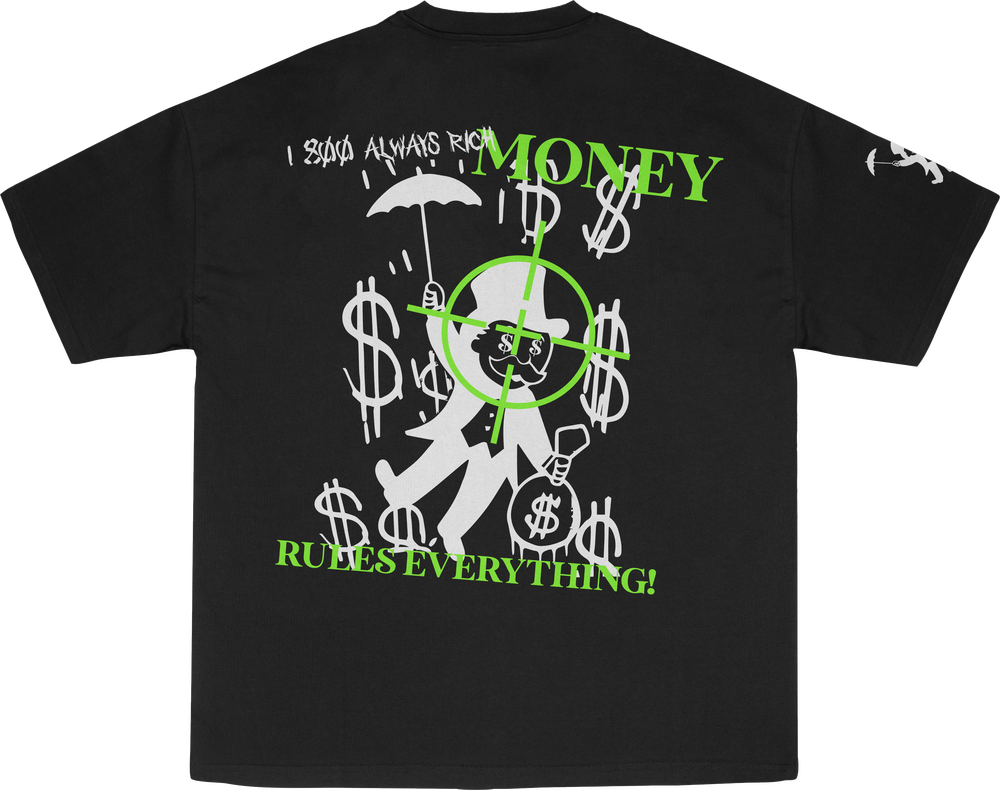 """Champion X Existence """"Money Is Everything"""" T-Shirt"""