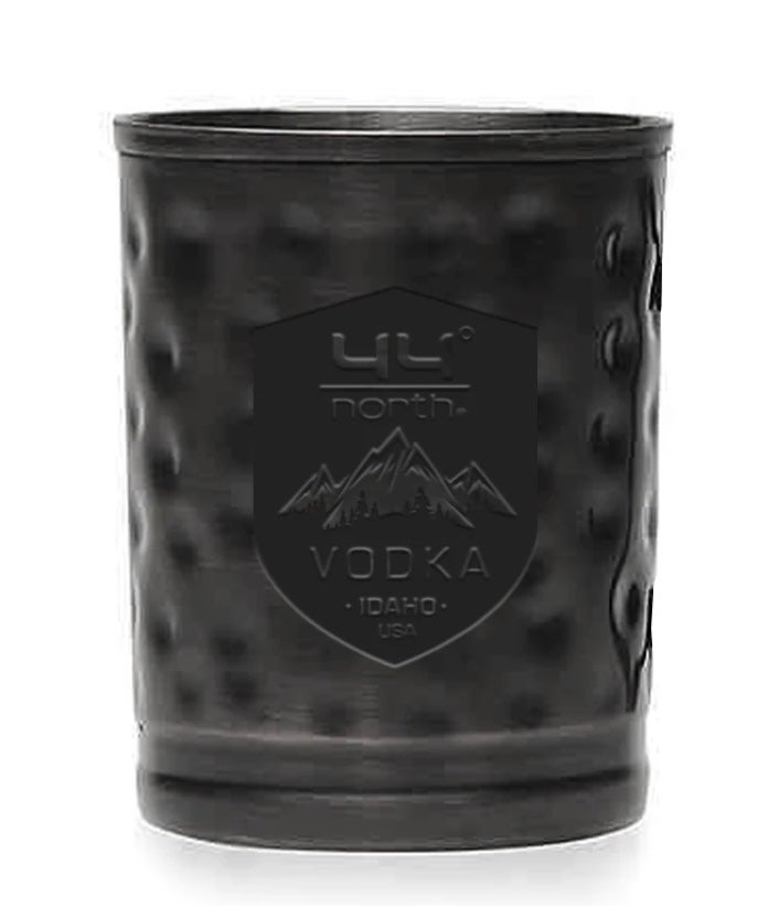 Matte Black Moscow Mule Cups