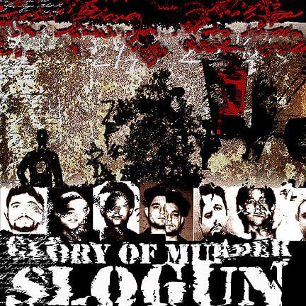 "B!090 Slogun ""The Glory Of Murder"" CD"