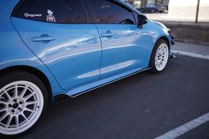 Image of 2019-2021 Toyota Corolla Hatchback Side Skirts