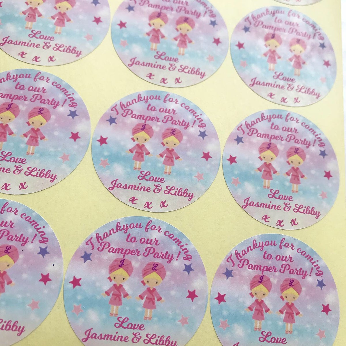 Image of Personalised Stickers