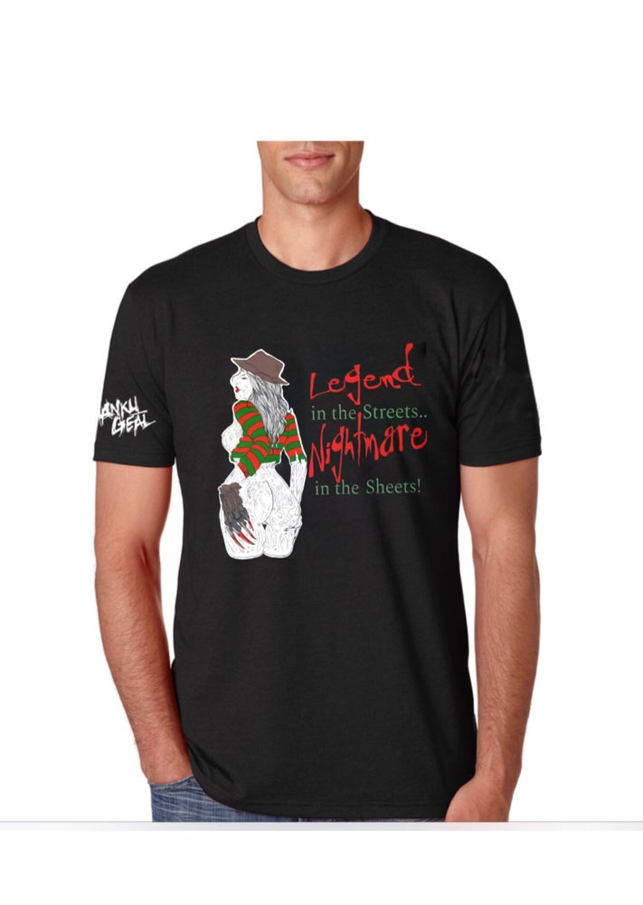 Image of Nightmare In The Sheets Mens Tee