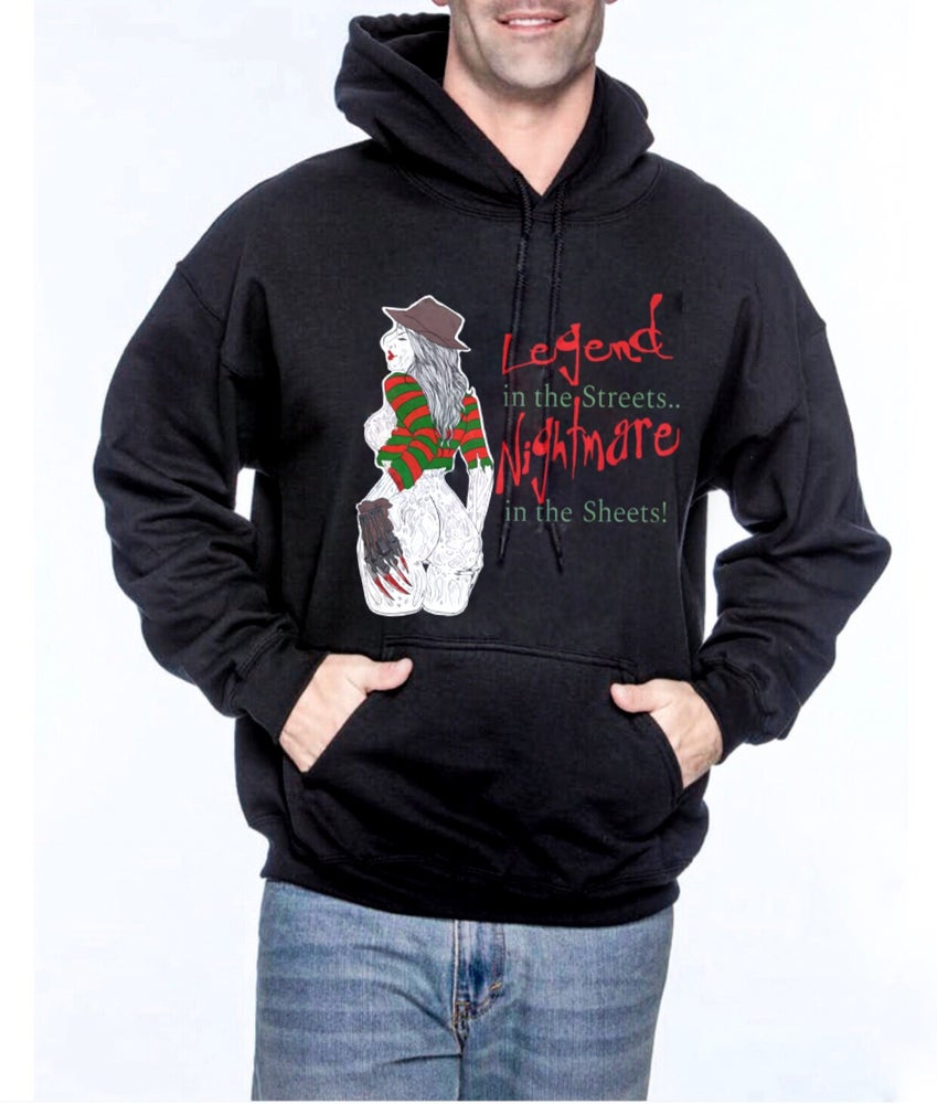 Image of Nightmare In The Sheets Unisex Pullover Hoodie