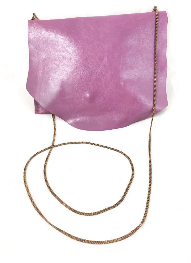 Image of vintage chain pouch (lilac)