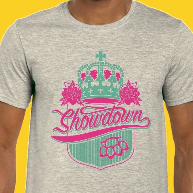 Showdown - Shield Tee (Sports Gray)