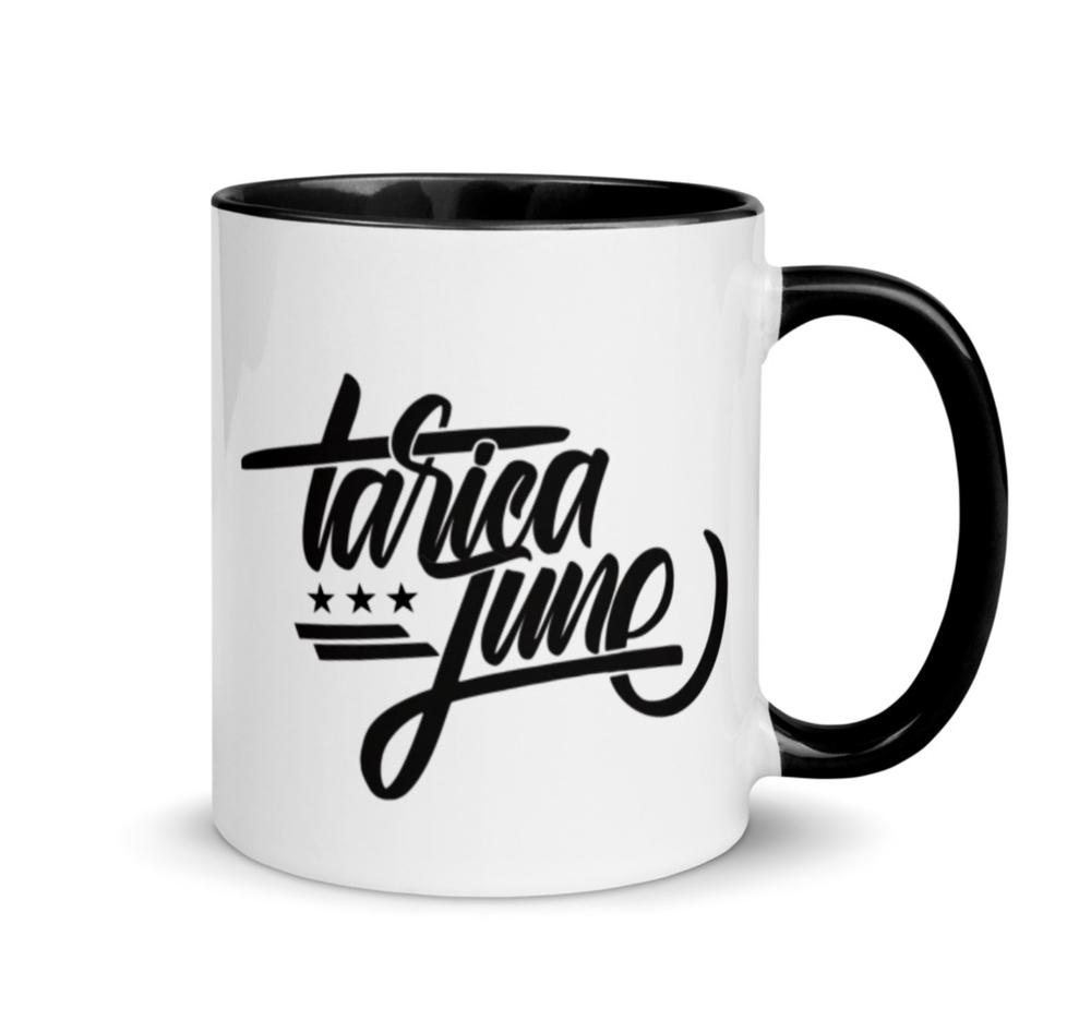 Image of Logo Mug - White w Black Interior
