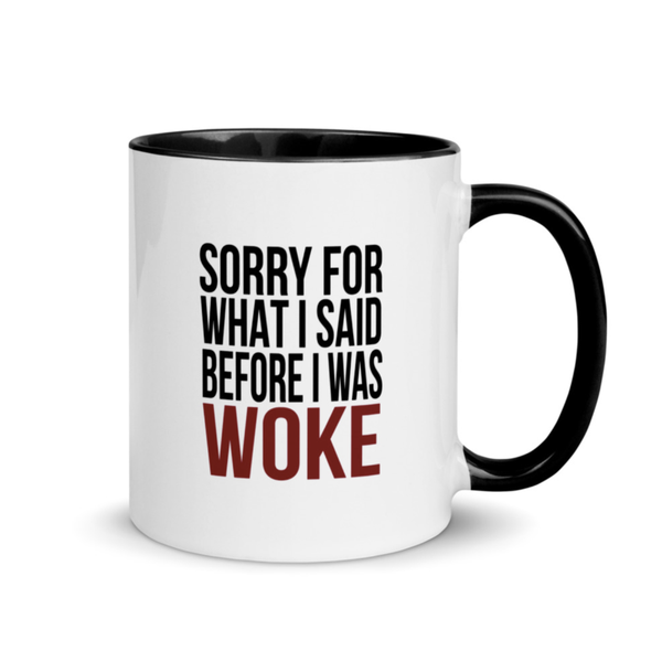 Image of WOKE Tea Mug - Black Interior