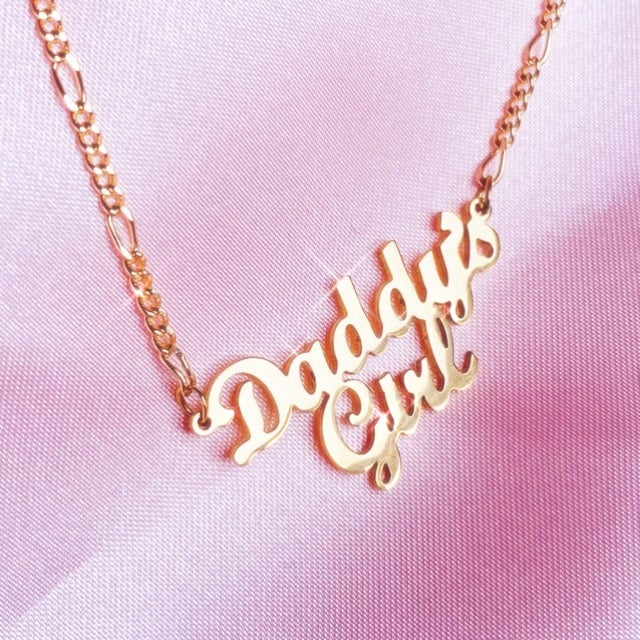 "Image of ""Daddys Girl"" Necklace SMALL"