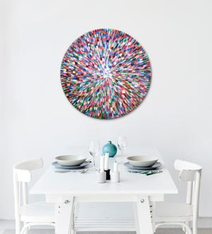 Image of Pacific bloom V - 90x90cm