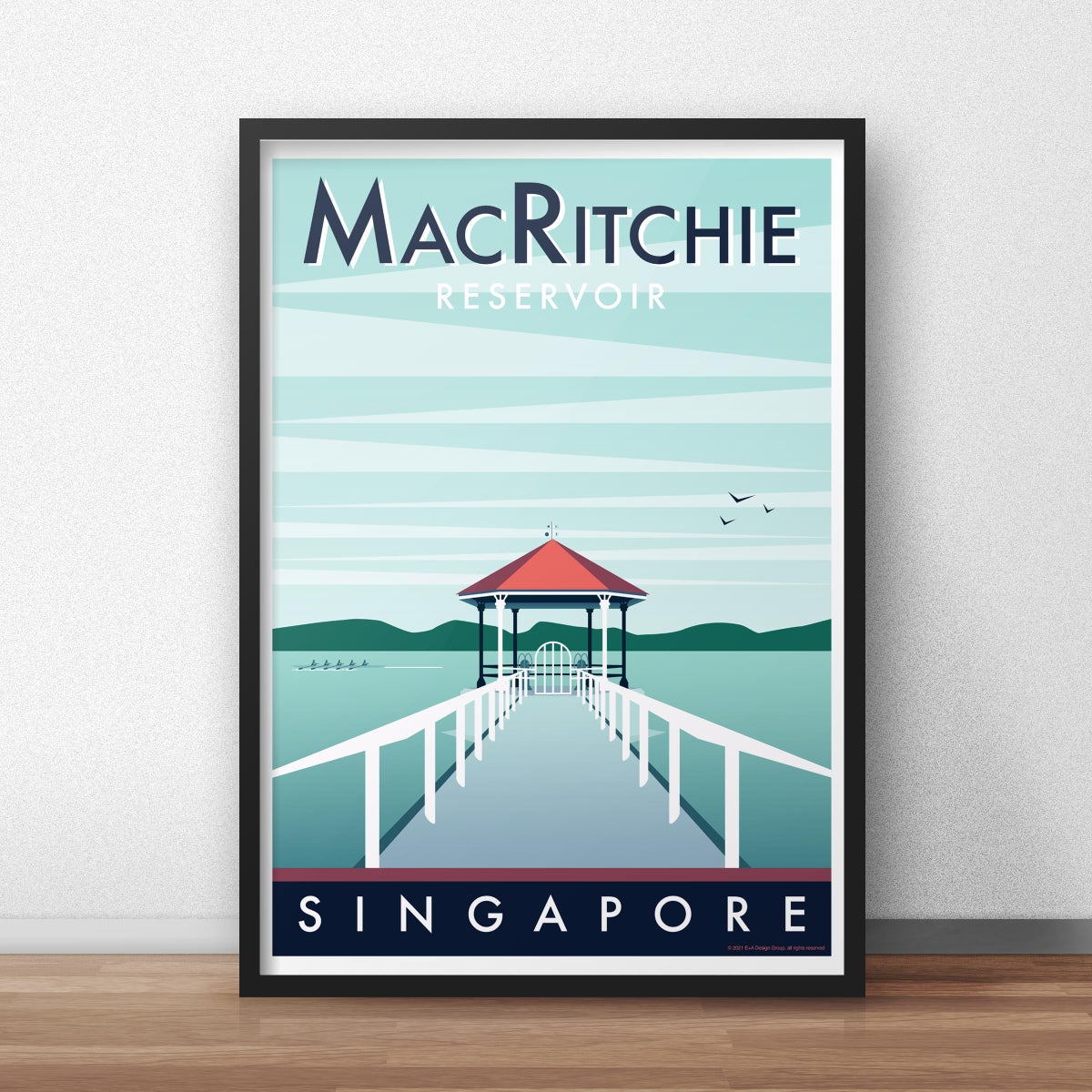 Image of MacRitchie Pier Poster