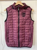 Image of SO58 Hooded Gilet in Mulberry
